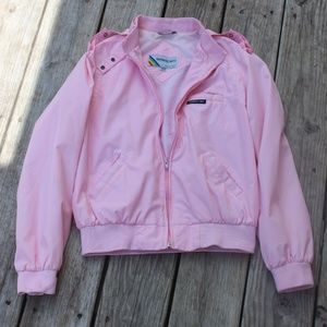 AUTHENTIC VINTAGE PIGGY PINK MEMBERS ONLY JACKET